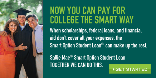 Now you can pay for college the smart way with three great repayment options and competitive interest rates!